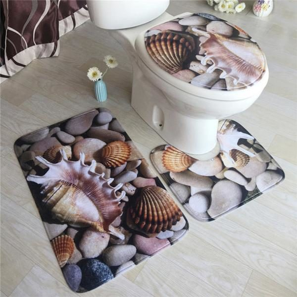 Anti slip badmat