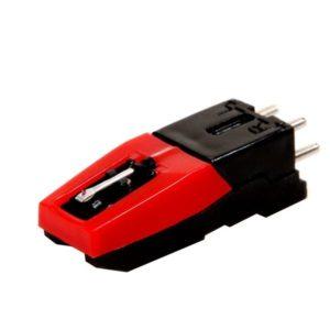 Cartridge met naald platenspeler