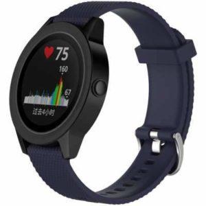 Horlogebandje voor de Garmin Vivoactive 3 Donker blauw