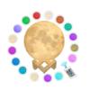 Maanlamp 16 kleuren - Dimbaar - Nachtlampje en Leeslamp - 20 cm
