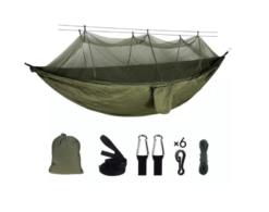 Outdoor hangmat met klamboe - muggennet