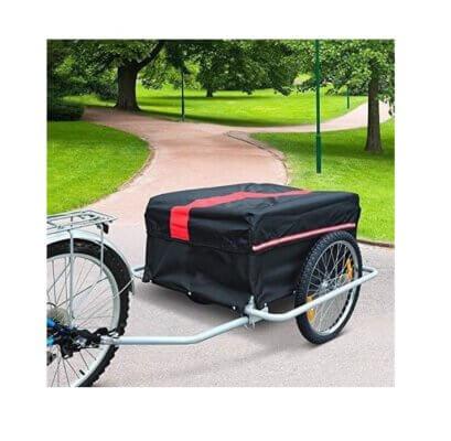 Luxe Fietskar - fietsaanhanger - met waterafstotende hoes