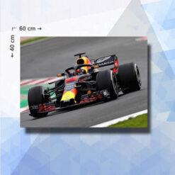 Diamond Painting pakket Formule 1 Racing - 60 x40 cm - vierkante steentjes