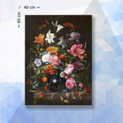 Diamond Painting pakket Bloemen boeket in vaas - 40 x 60 cm